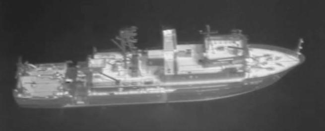 Infrared image taken from an UAV